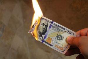 płonący-pieniądz